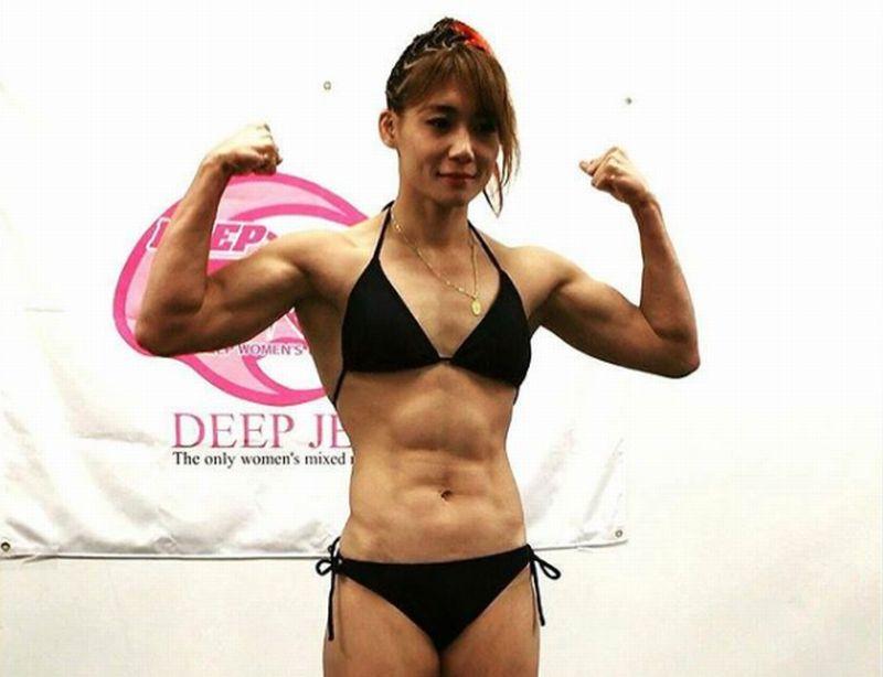 渡辺華奈の強さ!柔道で作った筋肉とバキバキの腹筋を作る筋トレについて。